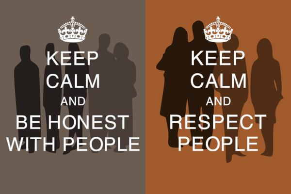 Keep Calm and ... people
