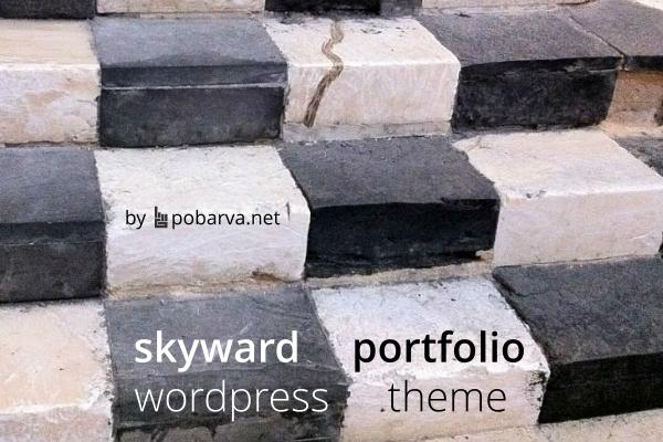 Skyward portfolio Wordpress theme