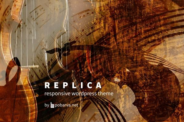 Replica responsive Wordpress theme